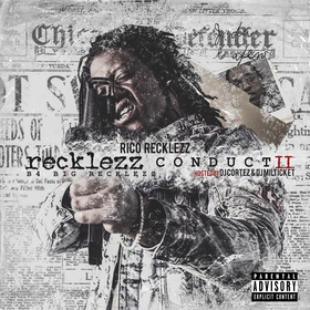 Recklezz Conduct  2 Rico Recklezz front cover