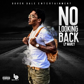 No Looking Back (The Mixtape) LP Marcy front cover