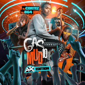 Gas N Mud 10 DJ Cortez front cover