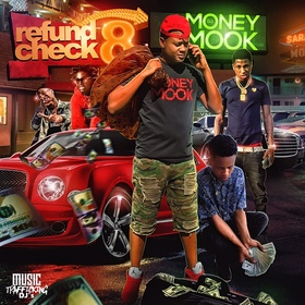 Refund Check 8 DJ Money Mook front cover