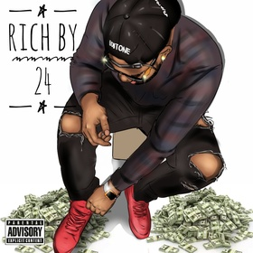 Rich By 24 ThatBoiiTone front cover