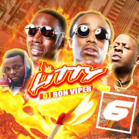 Litty 6 (Hot Tracks This Week) DJ Ron Viper front cover