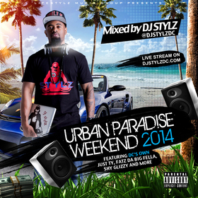 Urban Paradise Weekend 2014 DJ Stylz front cover