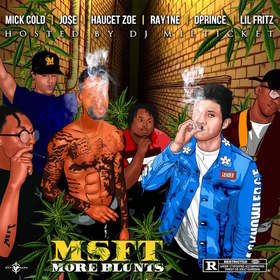 MORE BLUNTS MSFT MILITIA front cover