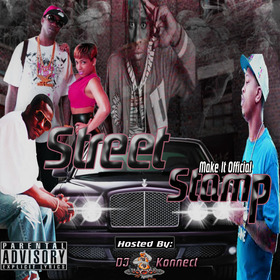 """Street Stamp """"Make It Official"""" DJ Konnect  front cover"""