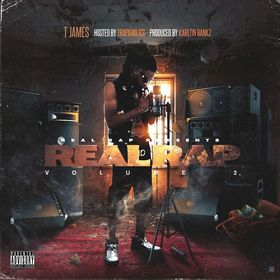 ​Real Rap Vol. 2​ T James front cover