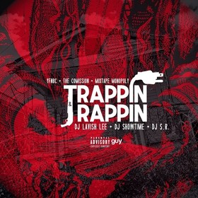 Trappin & Rappin DJ S.R. front cover
