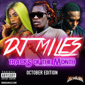 Tracks of the Month (October Edition) 2017 DJ Miles front cover
