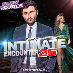 Intimate Encounter Vol. 25 DJ DES front cover