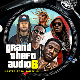 Grand Theft Audio 6 DJ Jah Will front cover
