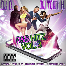 "DJ Tony H. & DJ O. ""RnB Hitz Vol. 3"" DJ Tony H front cover"