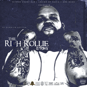 Rich Rollie - The Rich Rollie Story DJ DERRICK GEETER front cover