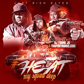 #Heat (My Squad Deep) Just Rich Gates front cover