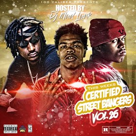 This Weeks Certified Street Bangers Vol.26 DJ Mad Lurk front cover