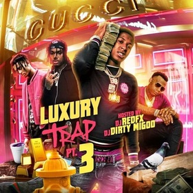Luxury Trap 3 DJ Big Migoo front cover