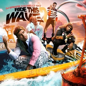 Ride The Wave 2 DJmellz1017 front cover