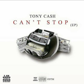 Can't Stop Tony Cash front cover