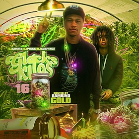 Glocks & Kilos 16 (Hosted By Bambino Gold) DJ Cortez front cover