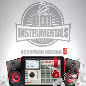 Got Instrumentals x GC54PROD Edition 5 GC54PROD front cover