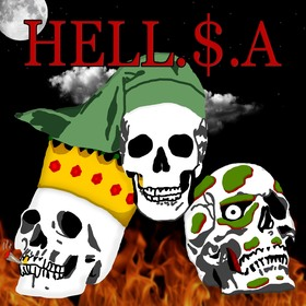 HELL.$.A. L.$.A. front cover