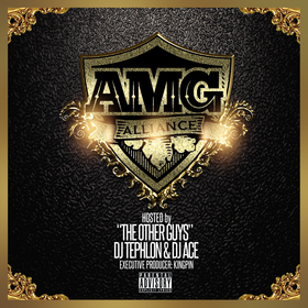 """AMG COMPILATION """"THE OTHER GUYS"""" Bigga Rankin front cover"""