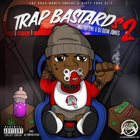 Trap Bastards 2 DJ Dow Jones front cover