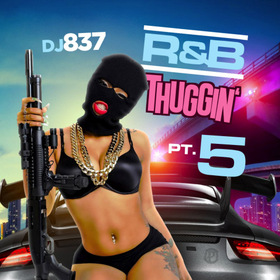 R&B Thuggin 5 DJ 837 front cover