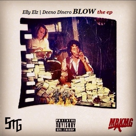 #BlowTheEP Elly Elz front cover