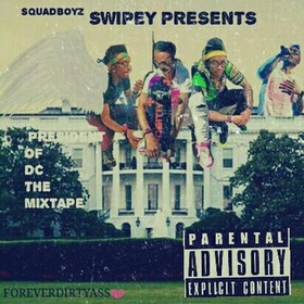 President Of DC : Forever DirtyAss Swipey front cover