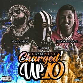 Charged Up 10 DJ Gxxd Muzic front cover