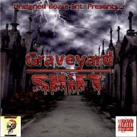 JAY CANNON - GRAVEYARD SHIFT DJ Louie V front cover