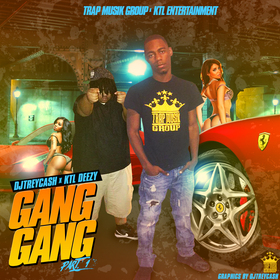 Gang Gang Pt. 1 Dj Trey Cash front cover