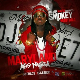 M.A.N. (Maryland Ass Nigga) Smokey Montana front cover