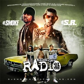 Smoked Out Radio 36 DJ S.R. front cover