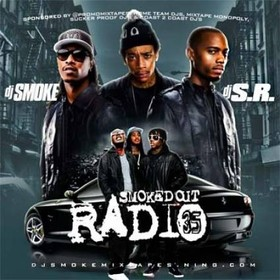 Smoked Out Radio 35 DJ S.R. front cover