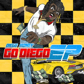 Go Diego EP Diego Money front cover