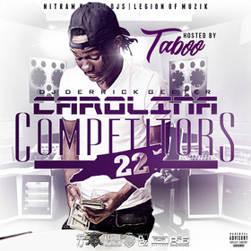 Carolina Competitors 22 ( Hosted By Taboo ) DJ DERRICK GEETER front cover