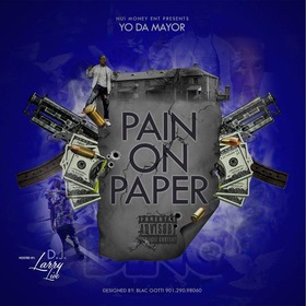 Pain On Paper Yo Da Mayor front cover