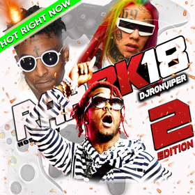 Rap2k18 #2 (Hot Tracks This Week) DJ Ron Viper front cover