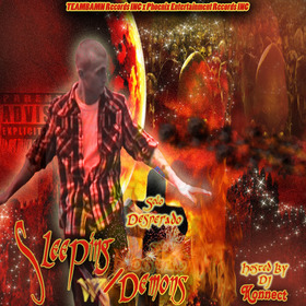 "Solo Desperado- ""Sleeping With Demons"" DJ Konnect  front cover"