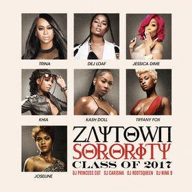Zaytown Sorority Vol. 2 Zaytoven front cover