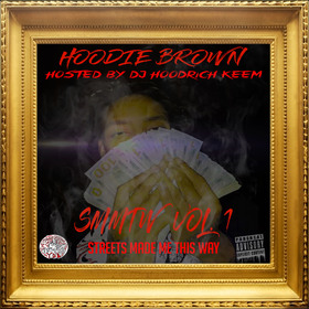 Streets Made Me This Way Hoodie Brown front cover
