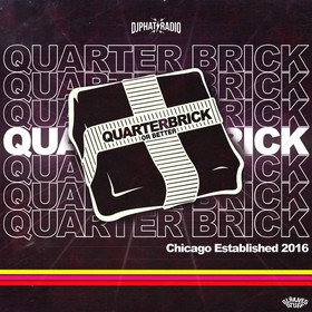 QUARTERBRICK OR BETTER DJ PHAT front cover
