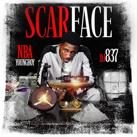 Scarface DJ 837 front cover
