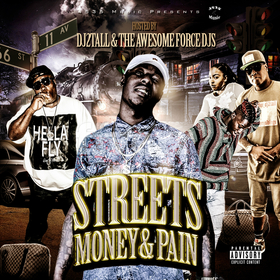 Streets Money & Pain DJ2TALL front cover