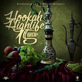 Hookah Highlife 15 DJ S.R. front cover