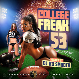 College Freak 53 DJ HB Smooth front cover