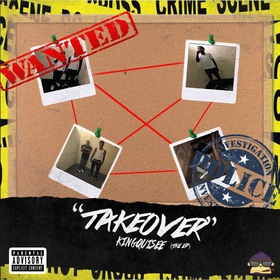 Takeover (The EP) KIngQuisee front cover