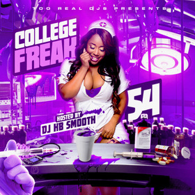College Freak 54 DJ HB Smooth front cover