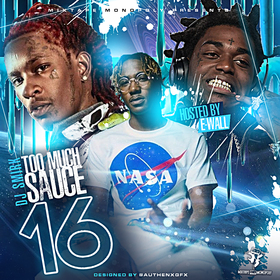 Too Much Sauce 16 DJ Smirk front cover